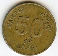 Maldives Maldive 50 Laari 1984 - 1404 KM 72 - Maldives