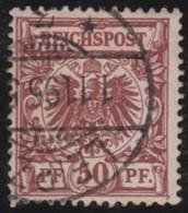 Deutsches  Reich   .   Michel    .  50a      .    O     .      Gebraucht   .     /    .    Cancelled - Gebraucht