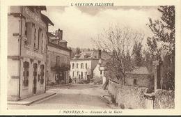 Monteils Avenue De La Gare L Aveyron Illustre - France