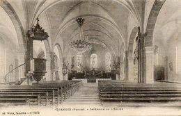 CPA - GRANGES (88) - Aspect De L'intérieur De L'Eglise Dans Les Années 20 - Granges Sur Vologne