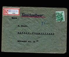A5487) Kontrollrat R-Brief Bremen 6.11.47 N. Berlin - Gemeinschaftsausgaben