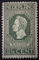 1913 Jubileumzegel NVPH 90*) - Periode 1891-1948 (Wilhelmina)