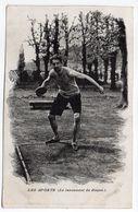 Sport-- Athlétisme --Lancement Du Disque - Athlétisme