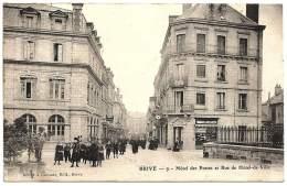 19 - B23401CPA - BRIVE - Hotel Des Postes - Rue Hotel De Ville - Carte Pionniere - Très Bon état - CORREZE - Brive La Gaillarde