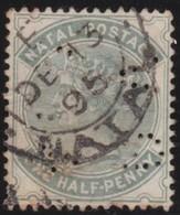 Natal       .    Yvert   .  43a  Perf.      .     O     .  Gebruikt    .     /    .    Cancelled - Zuid-Afrika (...-1961)