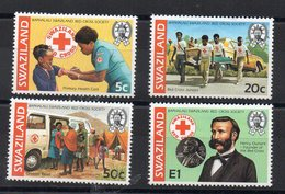 SWAZILAND - RED CROSS - CROIX-ROUGE - 1982 - - Swaziland (1968-...)