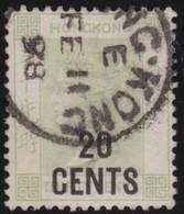 Hong Kong     .    Yvert   .  49    .     O     .  Gebruikt    .     /    .    Cancelled - Used Stamps