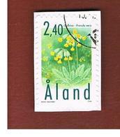 ALAND -  SG 152  -   1999 FLOWERS    -    USED - Aland