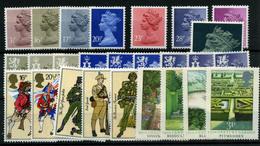 2890- Gran Bretaña Nº 1082/90, 1094/103, 1075/81 - 1952-.... (Elizabeth II)