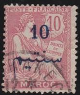 Maroc       .   Yvert    .    29a      .        O      .   Gebruikt    .     /    .    Cancelled - Frankrijk (oude Kolonies En Protectoraten)