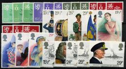 2888- Gran Bretaña Nº 1027/51 - 1952-.... (Elizabeth II)