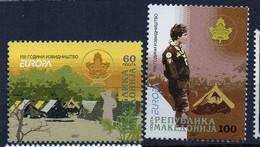 PIA - MACEDONIA - 2007 : Europa - (Yv  415-16) - Macedonia