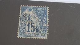 LOT 400160 TIMBRE DE COLONIE REUNION OBLITERE N°22 - Neufs
