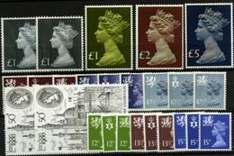 2886- Gran Bretaña Nº 846/54, 931/31a, 674/74a, 822/4, 941/9 - 1952-.... (Elizabeth II)