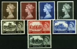 2884- Gran Bretaña Nº 502/5, 487/90 - 1952-.... (Elizabeth II)