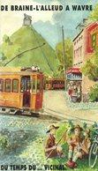 De Braine-l'Alleud à Wavre Du Temps Du Vicinal - Paul Stevens - SNCV - Tram - 1998 - Bahnwesen & Tramways