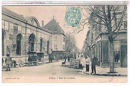 01  BELLEY  RUE  DE CORDON  TBE  FO676 - Belley