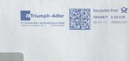 T 338) AFSt Bremen Triumpf-Adler; Johann Von Bodeck Straße, Mitbegründer Der Börse In Frankfurt - Celebrità