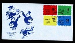 A5491) Niederlande Stadtpost Zeist Brief 1970 - 1949-1980 (Juliana)