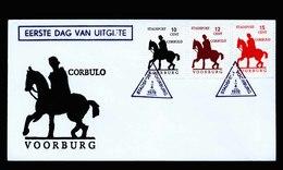 A5492) Niederlande Stadtpost Voorburg Brief 1970 - 1949-1980 (Juliana)