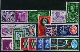 2878- Gran Bretaña Nº 365/69, 312/14, 355/61 - 1952-.... (Elizabeth II)