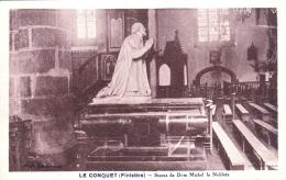 29 - Finistere -  LE CONQUET -  Statue De Dom Michel Le Nobletz - Le Conquet