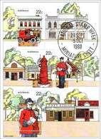 1980 - Australian NATIONAL STAMP WEEK Minisheet Minature Sheet Stamps MNH - Blocks & Sheetlets