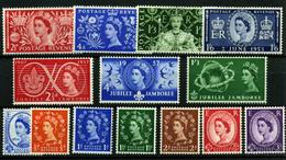 2877- Gran Bretaña Nº 302/11, 279/82 - 1952-.... (Elizabeth II)