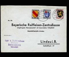 A5493) Franz Zone Brief 2.Gewichtsstufe Heimenkirch 20.5.48 - Französische Zone
