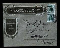 A5494) DR Werbebrief Torgau 4.12.08 Briefumschlagfabrik - Deutschland