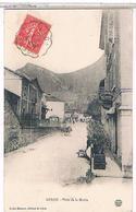 01  CULOZ  PLACE  DE LA  MAIRIE   + CAFE  MARTIN  BE  FO661 - Autres Communes