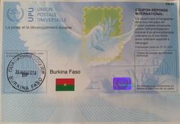 Burkina Faso 2018 Ouagadougou Reply Coupon Reponse Type T37 IRC IAS - Burkina Faso (1984-...)