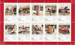 2009 - Australian Icons Of AUSTRALIA POST Minisheet Stamps MNH - Blocks & Sheetlets