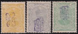 Iran       .    Yvert   .    99A / 101 A       .        *     .  Ongebruikt    .     /    .     Mint-hinged - Iran