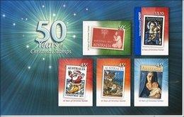 2007 - Australian CHRISTMAS XMAS Sheetlet Stamps MNH - Blocks & Sheetlets