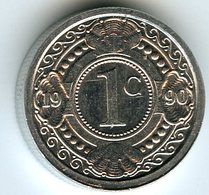 Antilles Neérlandaises Netherlands Antilles 1 Cent 1990 KM 32 - Netherland Antilles