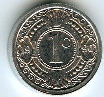 Antilles Neérlandaises Netherlands Antilles 1 Cent 1990 KM 32 - Antilles Neérlandaises