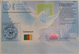 Cameroun Cameroon 2018 Garoua Reply Coupon Reponse Type T37 IRC IAS - Burkina Faso (1984-...)