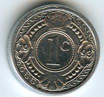 Antilles Neérlandaises Netherlands Antilles 1 Cent 1993 KM 32 - Antilles Neérlandaises