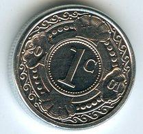 Antilles Neérlandaises Netherlands Antilles 1 Cent 2001 KM 32 - Netherland Antilles