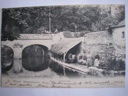 91 - CPA - ORSAY - L'Abreuvoir - Lavandières - Belle Carte Précurseur Peu Commune - Orsay