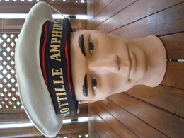 Bachi Marine Nationale - Flottille Amphibie - Dinassaut - Indo - Indochine. - Casques & Coiffures