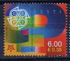 """PIA -  ESTONIA  - 2006 : Cinquantenario Dell'emissione Dei Francobolli """"Europa""""  - (Yv  507) - 2006"""