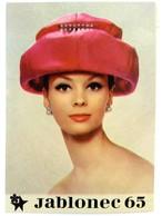 #299   JABLONEC '65 - Internacional Costume Jewelllery Exhinition - Postcard 1965 - Fashion