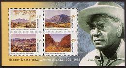 2002 - Australian ALBERT NAMATJIRA Minisheet Minature Sheet Stamps MNH - Blocks & Sheetlets