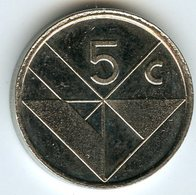 Aruba 5 Cents 1993 KM 1 - [ 4] Colonies