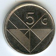 Aruba 5 Cents 2001 KM 1 - [ 4] Colonies