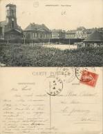 D- [504104] Carte-France  - (54) Meurthe Et Moselle, Longwy-Haut, Place D'Arme, Architectures - Longwy