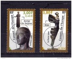 CONSEIL DE L'EUROPE N*  120/121 NEUF** - Mint/Hinged