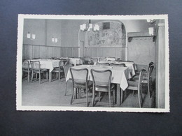 Echtfoto AK Ca. 1950er Jahre Hotel Deutsches Haus, Friedberg / Hessen Speisesaal. Verlag Kaltenhäuser, Schotten - Hotels & Gaststätten